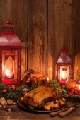Tasty Christmas duck — Stockfoto