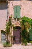 Old town in provence view — Stock Photo