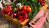 Fresh season vegetables — Stock Photo
