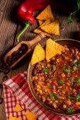 Chili con Carne med tomater — Stockfoto