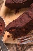 Tasty Chocolate brownie — Stock Photo