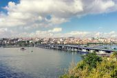 View of Istanbul from the other side — Stockfoto