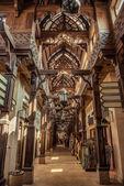 Beautiful architecture of Old market in Dubae, UAE — Stock Photo