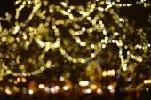 Color background blur. Christmas light. — Stock Photo