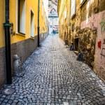 Colorful street in Ljubljana, Slovenia — Stock Photo #69541035