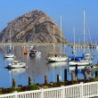 Morro Bay Harbor and The Rock, California — Stock Photo #52705471