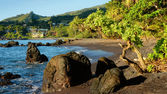 Hana Bay, Hana, Maui, Hawaii — Stock Photo