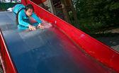 Kid on playground — Photo