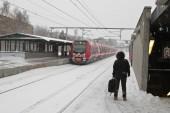 Winter in Birkerod — Stock Photo