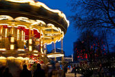 Illuminations at Christmas at the Tivoli in Copenhagen — Stock Photo
