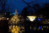 Christmas at the Tivoli in Copenhagen — Foto de Stock