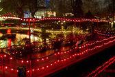 Christmas at the Tivoli in Copenhagen — Stock Photo