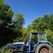 Old blue ractor — Stock Photo #73901047