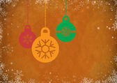 Vintage Abstract Christmas Background — Foto Stock