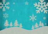 Vintage Abstract Christmas Background — Fotografia Stock