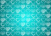Corazón para el día de San Valentín fondo — Foto de Stock