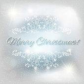 クリスマスの抽象的な背景 — ストックベクタ