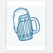 Sketch of a beer — ストックベクタ