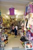 Anduze shop of handicrafts — Stock Photo
