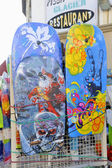 Beachwear shop in the town of Saintes-Maries-de-la-Mer — Stock Photo