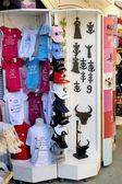 Shop fun memories in a pedestrian street of Saintes-Maries-de-la — Stok fotoğraf