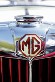 MG sports car in 1953 years — Stock Photo