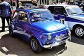 Old Fiat 500 Abarth racing equipped — Stock Photo
