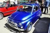 Oude Fiat 500 Abarth racing uitgerust — Stockfoto