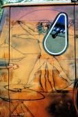 Van Bedford 1980 painted — Stock Photo