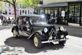 Citroen front-wheel Drive black — Stock Photo
