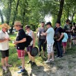 Постер, плакат: Treasure hunt organized in a French campsite