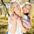 Two happy teenage girls — Stock Photo #58536105