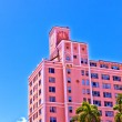 Beautiful historic buildings in  Miami in the Art deco district — Stock Photo #52348947