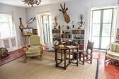 Working room of Ernest Hemmingway in Key West — 图库照片