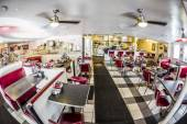 Johnny Rockets restaurant at ocean drive 728 in Miami, — Stock Photo