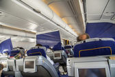 Inside the aircraft — Stock Photo