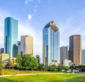Skyline of Houston, Texas i — Stok fotoğraf