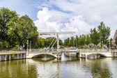 Bridge in Harlingen  — Stock Photo