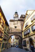Historic building in Rothenburg ob der Tauber — Stock Photo
