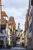 Historic building in Rothenburg ob der Tauber — Stock Photo