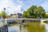 Most w harlingen, Holandia — Zdjęcie stockowe