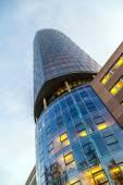 View to skyscraper Cologne Triangle in Cologne — Stock Photo