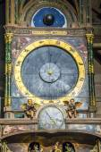 Astronomical clock in the Cathedral of Strasbourg — Stock Photo