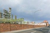 Chemical plant in Frankfurt — Stock Photo