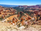 Great spires carved away by erosion in Bryce Canyon National Par — Stock Photo