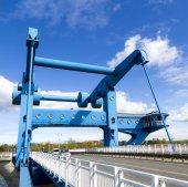Stroke bridge of Wolgast  — Stock Photo
