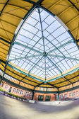 Famous old train station in Seebad Heringsdorf — Stock Photo