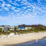 Baltic sea beach on Usedom island — Stock Photo #55780257