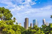 Skyline of houston — Stock Photo