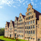 Salzspeicher (salt storehouses) in Luebeck, Germany  — Stock fotografie